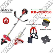 Моторна коса / бензинов тример RAIDER RD-GBC10-2