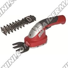 Ножица акумулаторна за трева и храсти, Li-ion 3.6V 1.5Ah, RAIDER RD-GSSL01