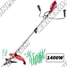 Сгъваем Тример / Коса електрическа 1400w с нож и корда RAIDER RD-EBC07