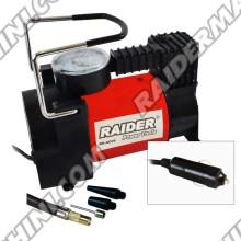 Компресор метален с аксесоари 12V RAIDER RD-AC05