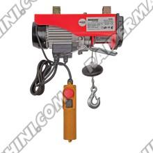 Телфер електрически 250 кг., 510W, въже 6-12 метра, RAIDER RD-EH01