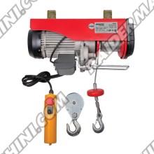 Телфер електрически 1т., 1600W, въже 6-12 метра, RAIDER RD-EH03