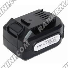 Батерия за акумулаторен винтоверт 12V, 2000 mAh Li-ion, RAIDER RDP-CDL08L