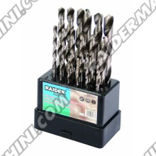 Свредла за метал к-т 19бр ф1.0-10мм, HSS, RAIDER 157105