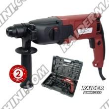 Ударен перфоратор RAIDER RD-HD38 с 3 функции 800w