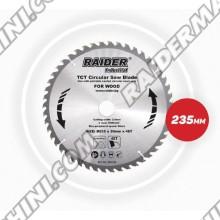 Диск за циркуляр за дърво Ф235, 48Tx30мм за RAIDER RDI-CS27
