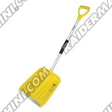 Лопата за сняг с алуминиева дръжка 1200мм, размер 320x400мм, TOPMASTER 380461