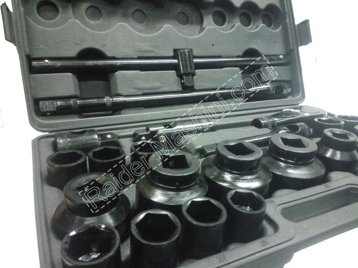 """Гедоре Gadget 26 части 3/4"""" & 1"""" вложки от 21 до 65 мм"""
