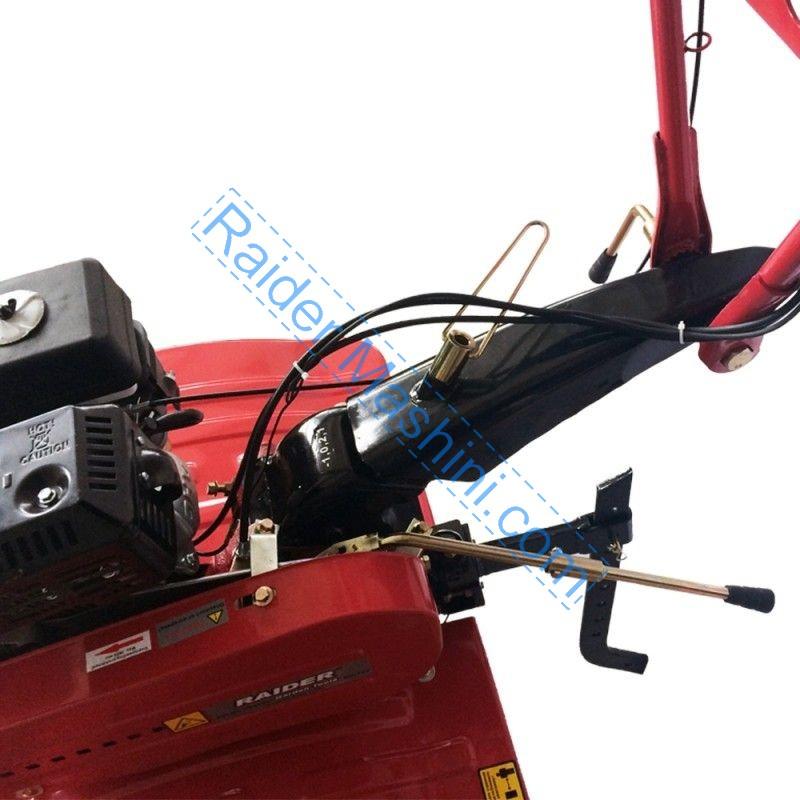 Мотофреза RAIDER RD-T03 пълен комплект приставки и чугунен редуктор