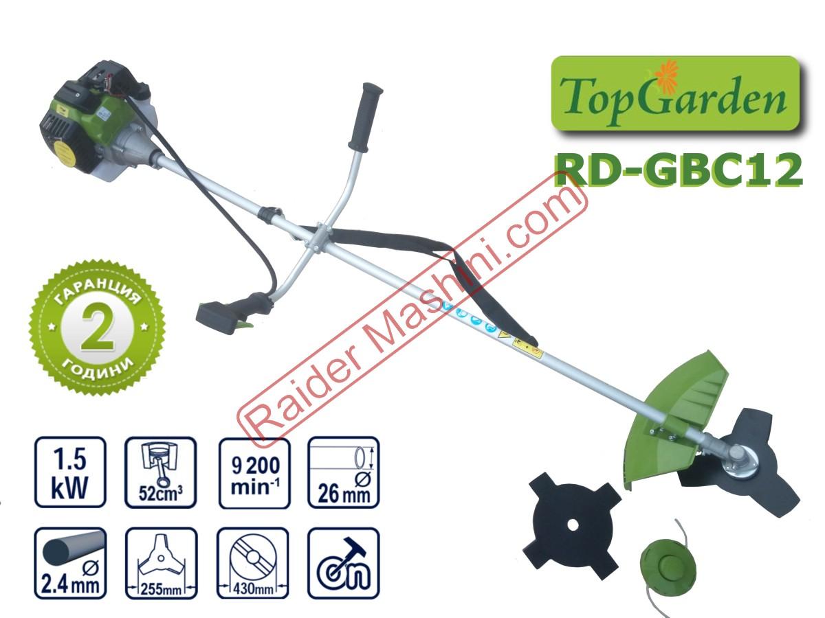Моторна коса / тример Top Garden RD-GBC12 (52 куб.см)